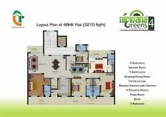 4 BHK  3270 sq. ft.