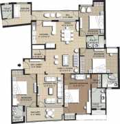 4 BHK+ Servant Room 2600 Sq. Ft