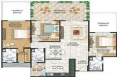 3BHK+3T - 1820 sq ft