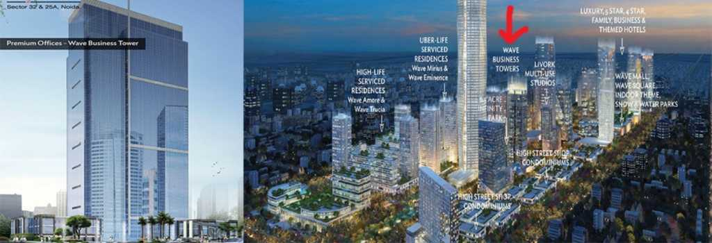Wave City Center Banner