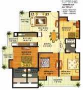4 BHK	1695 Sq ft