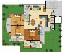 3 BHK  3 T 2290 sq.ft