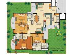 4 BHK 4T 2810 sq.ft