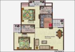 2 bhk 1050 sq ft