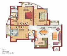3 Bedroom Area - 1775 Sq. Ft.