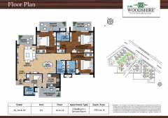 3BHK + Servant Room - Tower A1, A4 & A5 - Unit 01