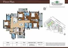 4BHK + Servant Room - Tower A2 & A4 - Unit 03